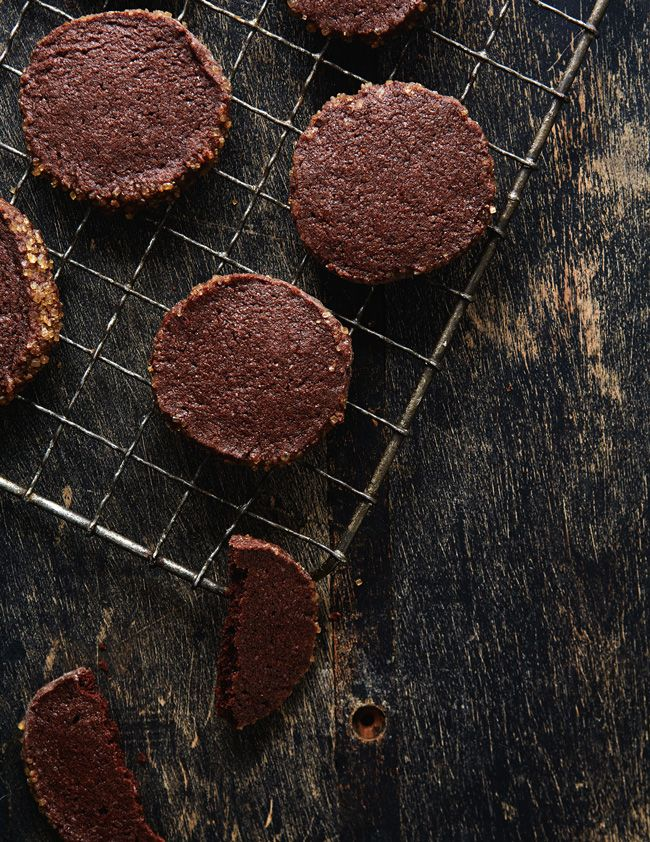 chocolate chili icebox cookies | photo by Linda Xiao from: thetarttart.com
