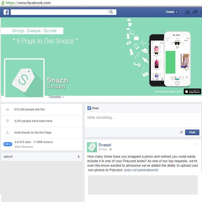 Create a Facebook cover photo for a new iOS shopping app! by Sanichi
