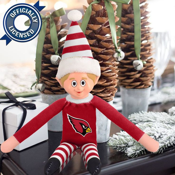 Limited Edition Arizona Cardinals Plush Elf