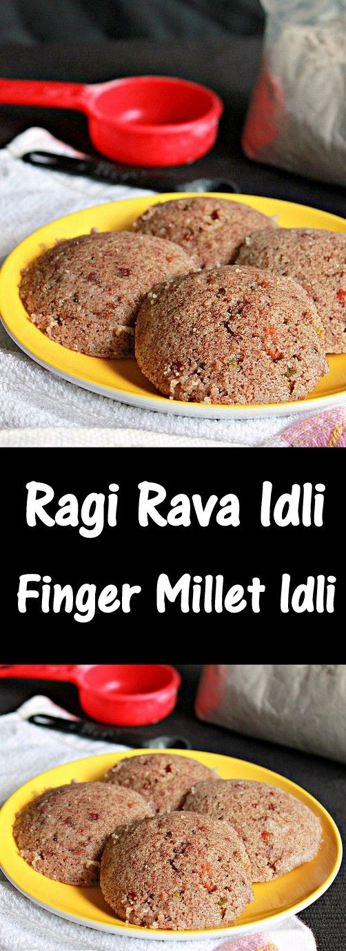 Ragi Rava Idlis/ Finger Millet Idlis, instant idlis/steamed cakes with finger millets, healthy and delicious..