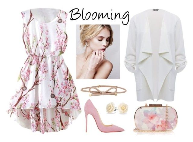 """Blooming"" by kseniavarlamova on Polyvore featuring мода, Christian Louboutin, Oasis, M&Co, Reiss и Bling Jewelry"