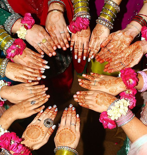 #BrahminMatrimonials  What does Mehndi in Indian marriage symbolize? 1) Prosperity 2) Happiness