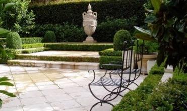 Formal French garden by Andrew Stark Garden Design.
