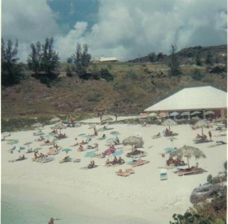 Bermuda Beach 1968; Fairmont Hamilton Princess.