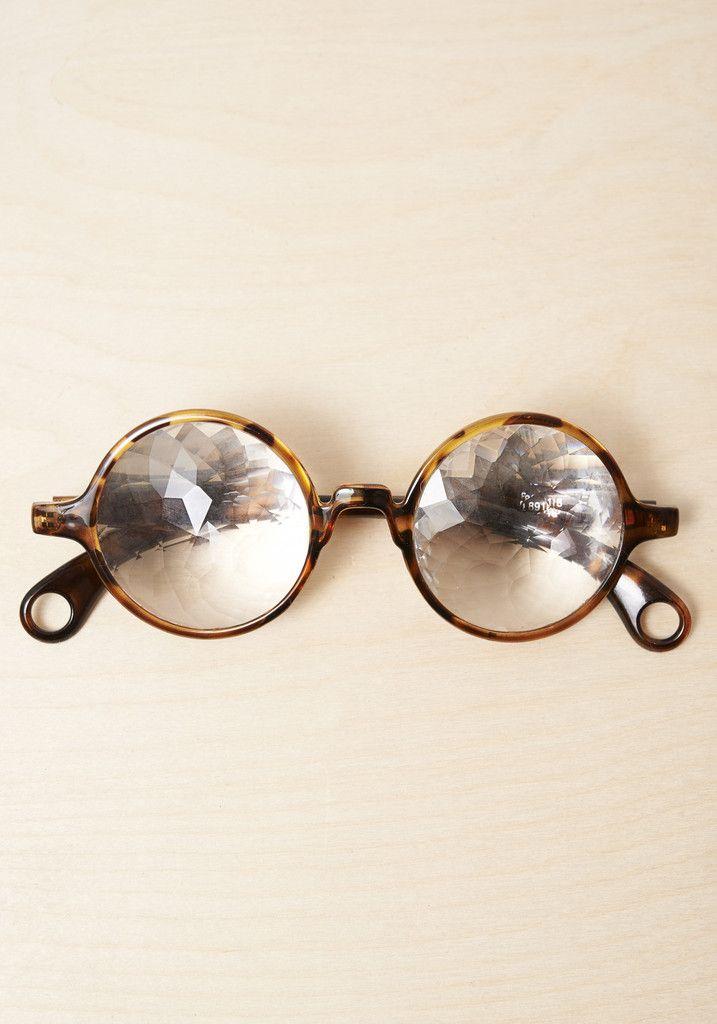 Kaleidoscope Glasses - dizzy dare to wear