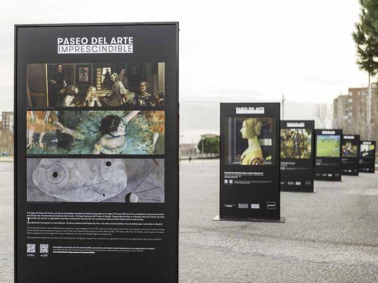 Exposición en Madrid Río