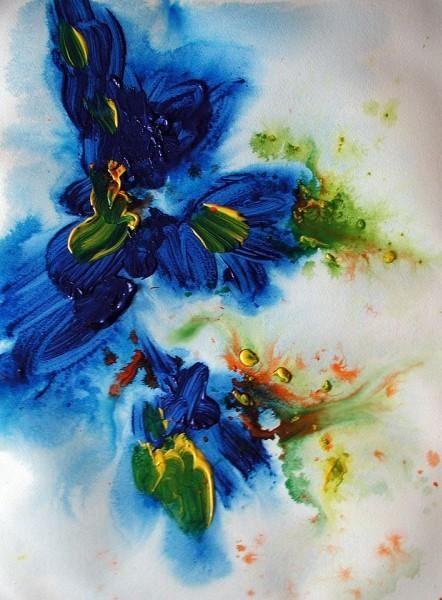 Die besten 25 Gemalte blumen Ideen auf Pinterest  Blumen malen Blumen anmalen und