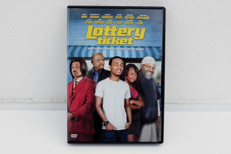 LOTTERY TICKET - DVD - BOW WOW - ICE CUBE - BRANDON T. JACKSON - MIKE EPPS