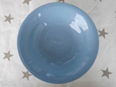 Pen skål fra blå Grete figgjo flint. I meget god stand!