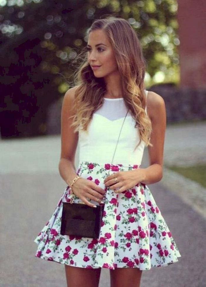 38 Cute and Fantastic Casual Spring Outfit for Teen Girl