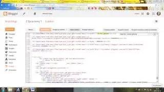 Jak zmienić menu na blogu (html)