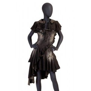 Gaetano Navarra - jeansowa sukienka