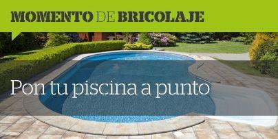 💧Momentos de bricolaje💧 El #verano esta lejos de terminar y el #calor vuelve con fuerza, ¡pon a punto tu #piscina! ✅ #tanfácilquenotelocrees