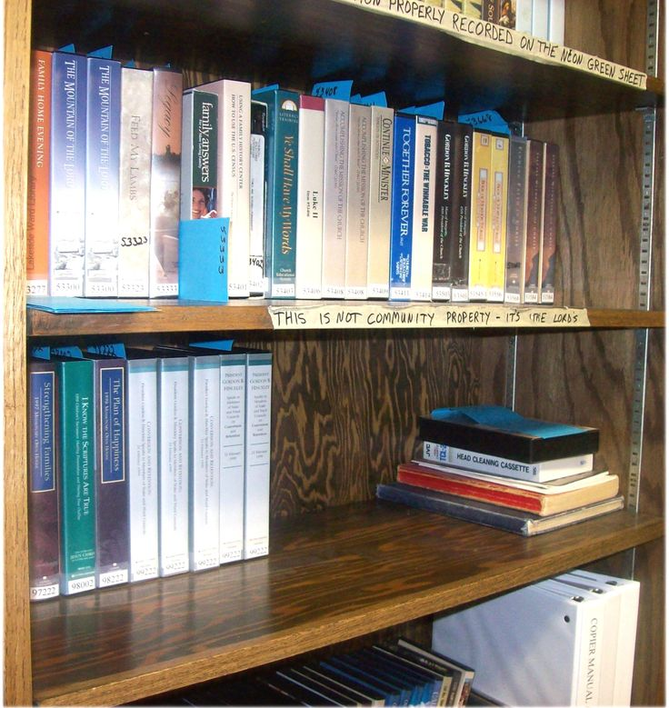 Library Tips - LDS Church ward libraries