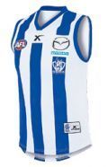 North Melbourne Kangaroos 2014 On-field Away Guernsey - Adults
