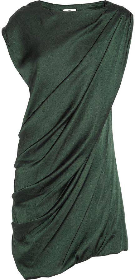 Day Birger et Mikkelsen Draped Crepe Dress. So lovely and elegant.
