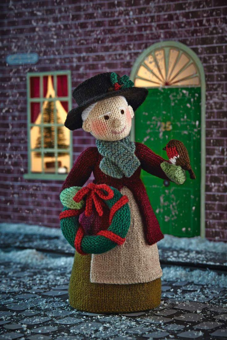 Simply Knitting 128 Alan Dart Grandma Holly