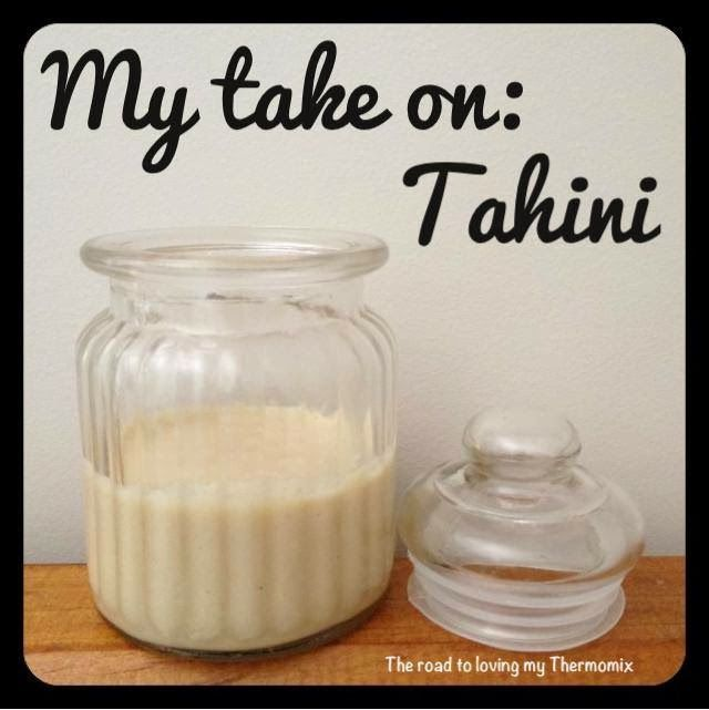 This is my take on Tahini using sesame seeds and coconut oil. It gives it a lovely nutty taste.  This will be turned into something for the lunchbox. Stay tun