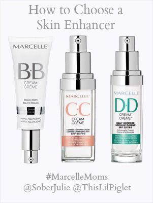 marcellemoms explain choosing a skin enhancer #makeup #cosmetics
