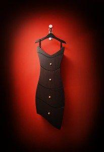 Black Dress drawers— Straight Line Designs