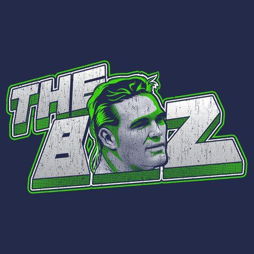 Brian Bosworth - The BOZ Retro Seattle Football T Shirt