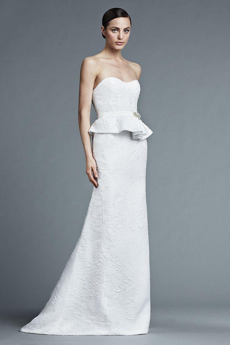 J. Mendel Spring 2015 Bridal Collection   itakeyou.co.uk #weddingdress: