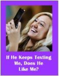 If He Keeps Texting Me Does He Like Me?  Here's the answer if you're ready for the truth and want help with understanding men. #findlove #datingadvice  #datingtips #dating #flirt  #understandingmen