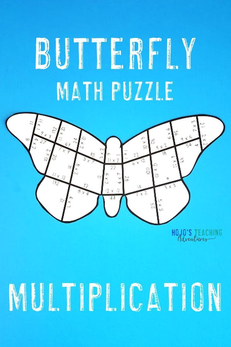 Use this fun butterfly puzzle to help your 3rd [ 1104 x 736 Pixel ]