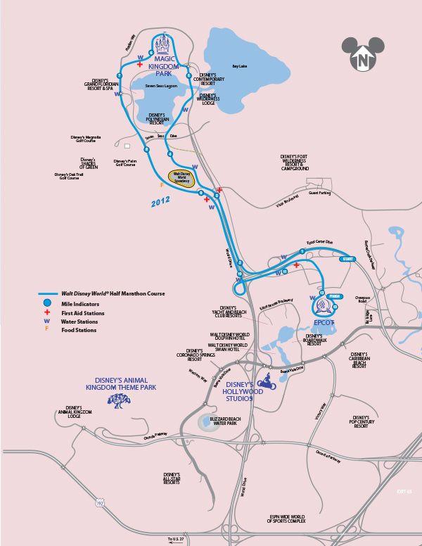 Disney World Half Marathon 2013