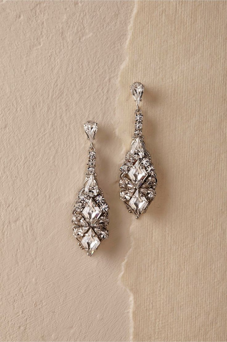 BHLDN's Ti Adoro Salvador Drop Earrings in Silver