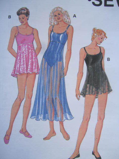 SeeSallySew.com - Leotard w/ Skirt Leotards Overskirt Exercise Kwik Sew 2796 Pattern Sz. XS - XL , $9.00 (http://stores.seesallysew.com/leotard-w-skirt-leotards-overskirt-exercise-kwik-sew-2796-pattern-sz-xs-xl/)