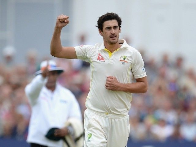 Mitchell Starc half-century frustrates India on day one