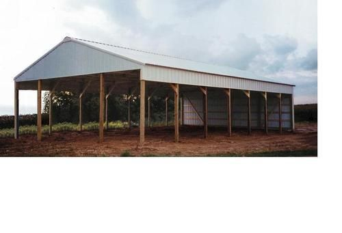 37 best pavilion ideas images on pinterest horse stalls for Hay pole barns