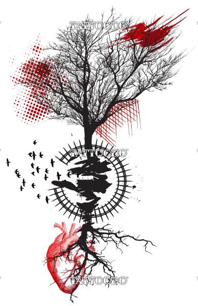 "Winning design for ""Dead tree ""trash polka"""" 