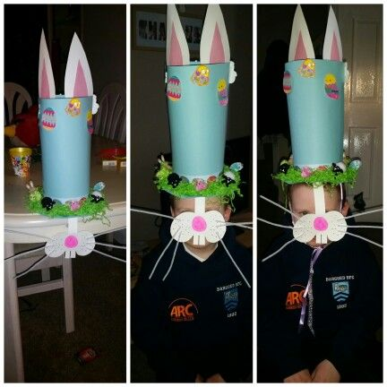 Boys Easter hat for easter bonnet parade