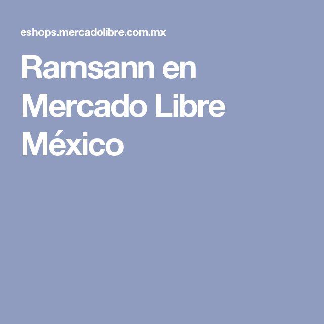 Ramsann en Mercado Libre México