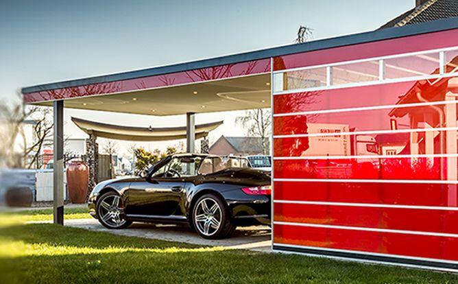 Carport Bauhaus HPL – pfiff-carports