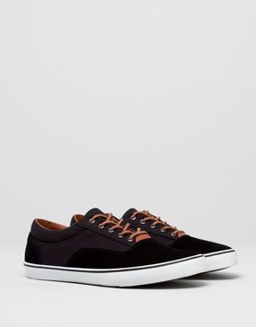 Two Material Plimsolls by Pull&Bear