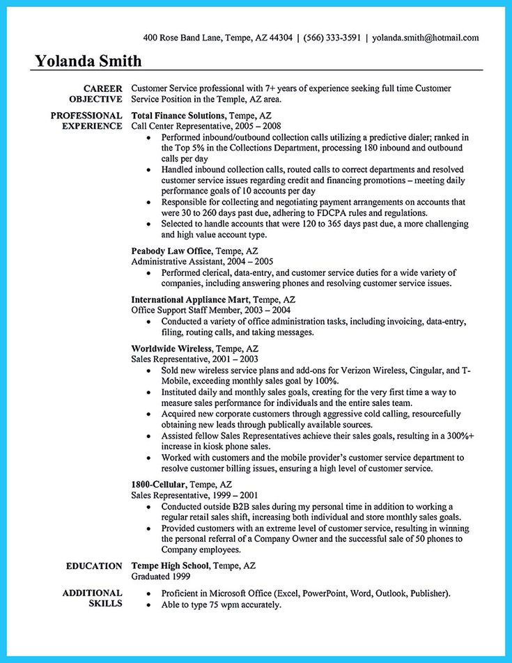 15 best resume templates download images on Pinterest Resume - call center resume samples