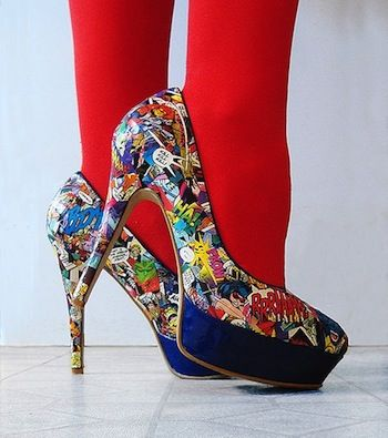 20 Mod Podge shoe projects - Mod Podge Rocks