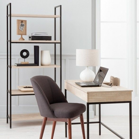 Loring Writing Desk Project 62 Target Wood Tables In 2019 Furniture Vintage Writing Desk Home Office Decor