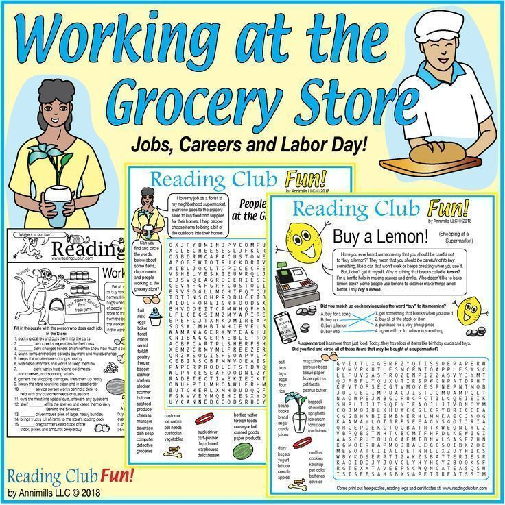 Working At The Grocery Store Jobs Careers Labor Day Reading