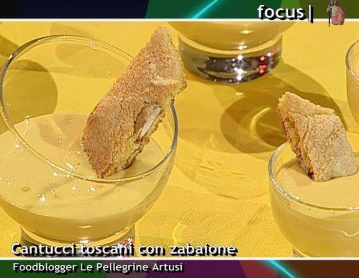 ricetta cantuccini e vinsanto