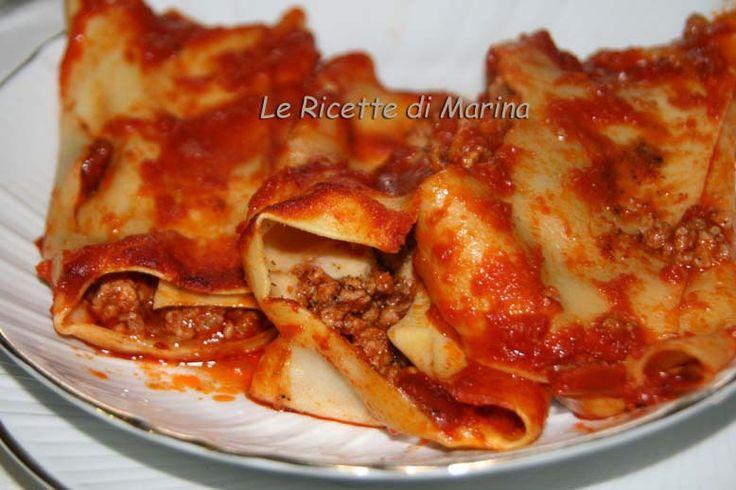 Cannelloni con carne