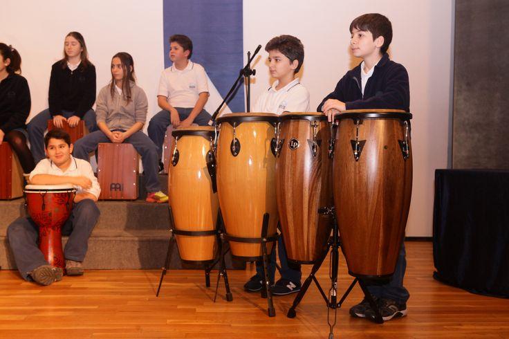 Etkinliklerle iç içe, uygulamalı müzik eğitimi