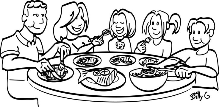 clipart thanksgiving table - photo #39
