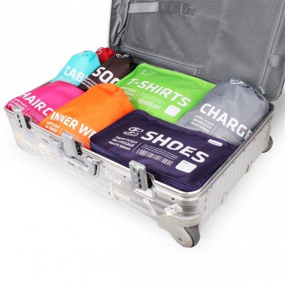 Housse de voyage violette pour chaussures | On range tout 15€