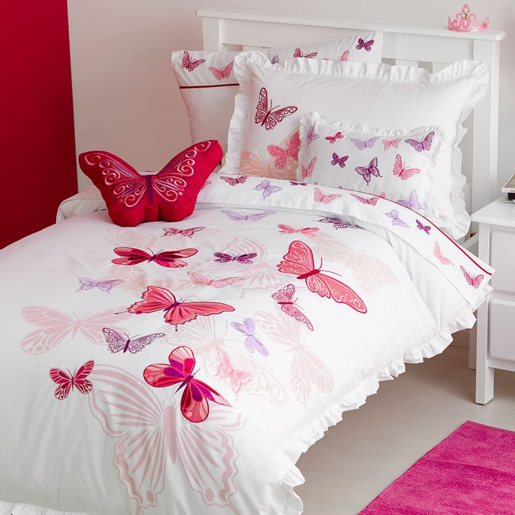 Pink Bedroom Sets For Girls best 25+ butterfly bedding set ideas only on pinterest | butterfly