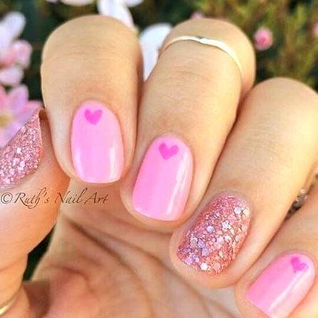 another valentines idea ruths nail art valentinesnails