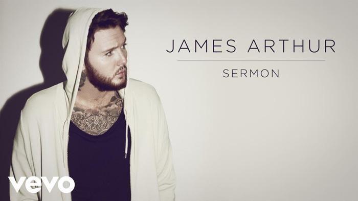 James Arthur Sermon - Pemilik Album Back from the Edge Ini Rilis Lagu Andalannya